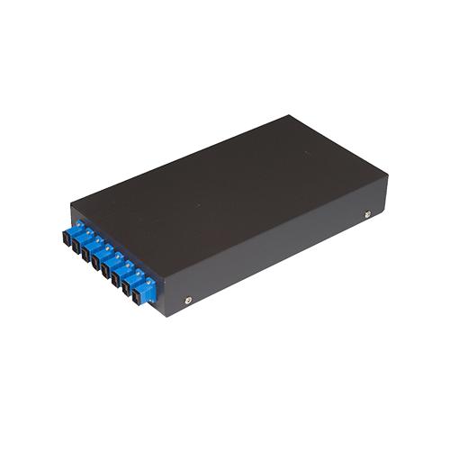 8 Cores Fiber Optic Box Fiber Optic Termination Box with SC fiber patch cords